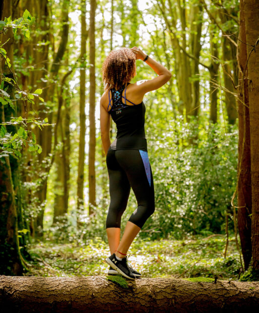 I Spy Fitness clothing for women - capris leggings and yoga top