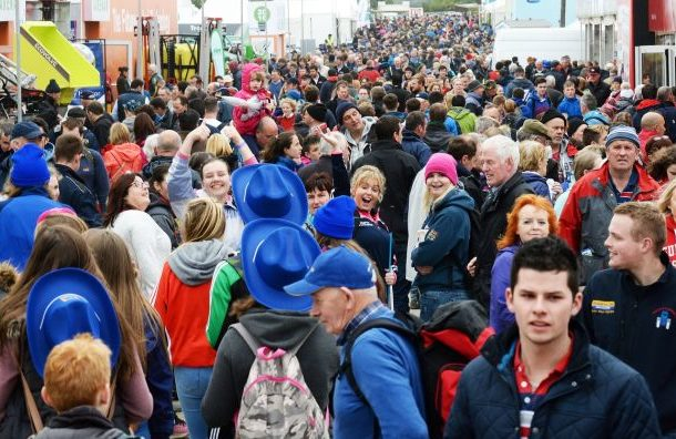Big crowds at the Ploughing Championships 2016