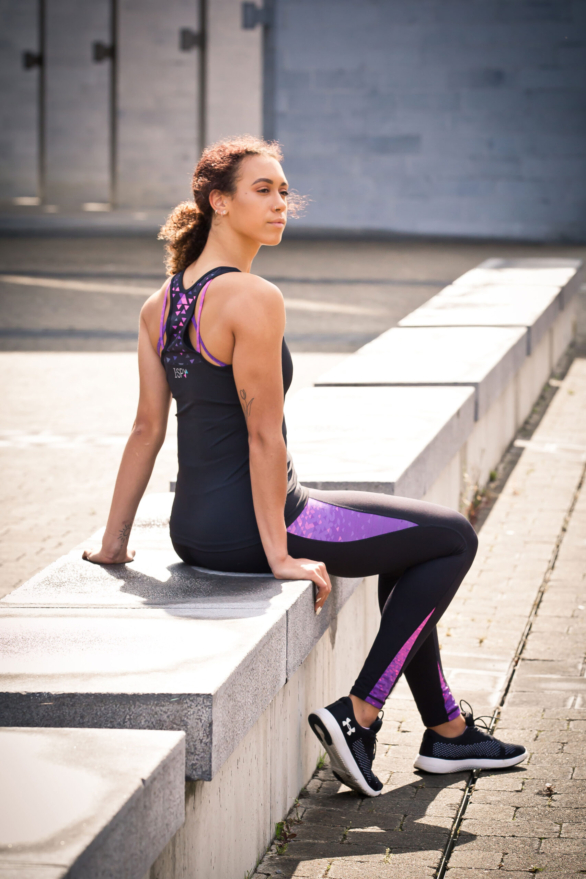 I-SPY Fitness Clothing Kit - womens yoga pants and yoga top - suitable for all exercises