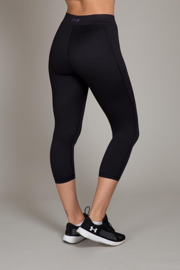 Black Capris Leggings - fitness clothing for women - yoga & exercise pants