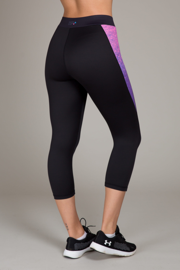 I Spy Black leggings for yoga and fitness workouts - exercise clothes